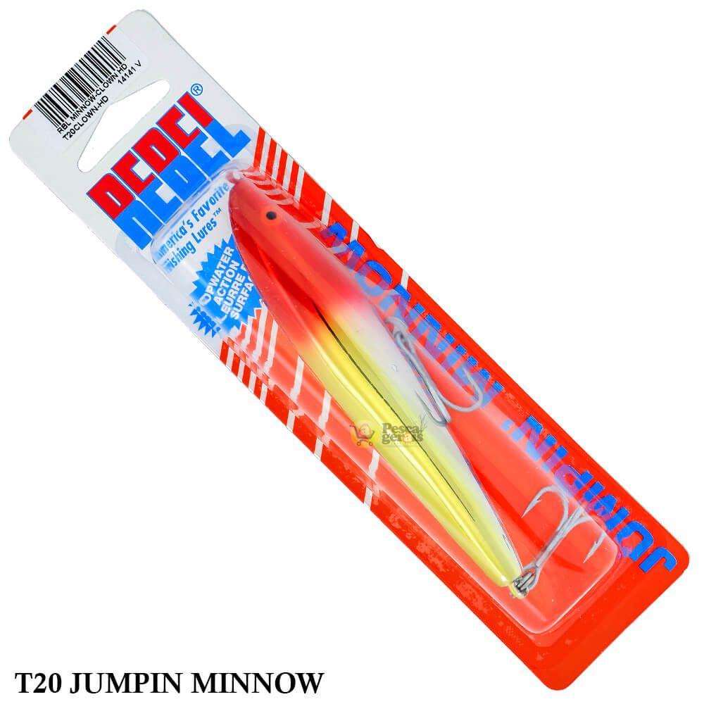Isca Rebel Jumpin Minnow T20 | 11,4 cm - 23,0 gr