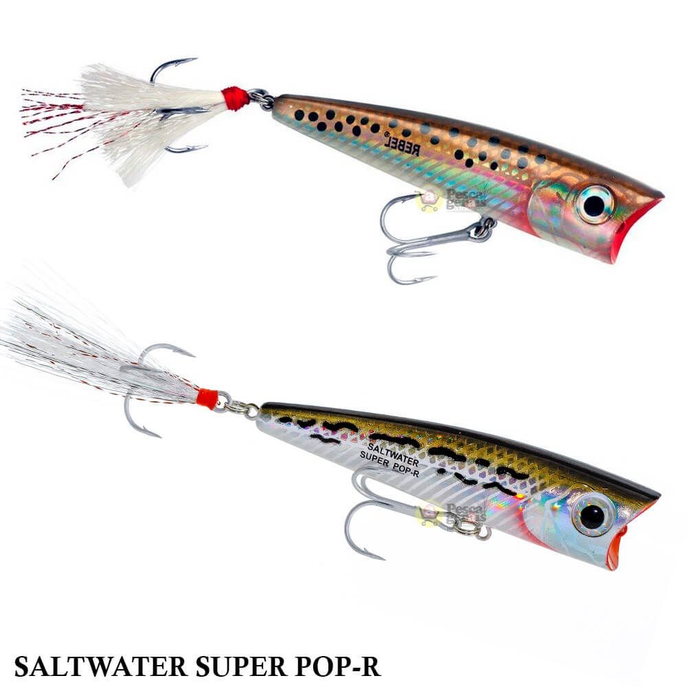 Isca Rebel Saltwater Super Pop-R P66 | 8,0 cm - 9,0 gr