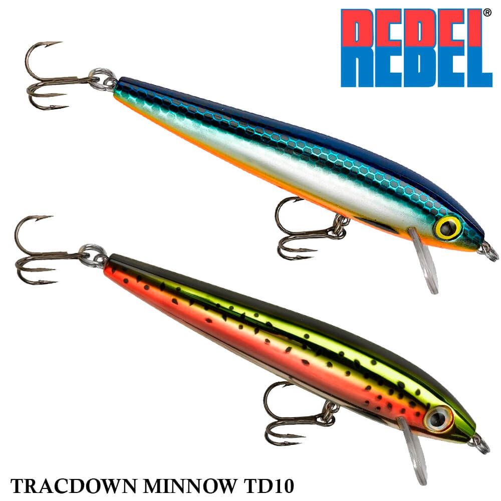 Isca Rebel Tracdown Minnow TD-10 | 8,89 cm - 10,63 gr