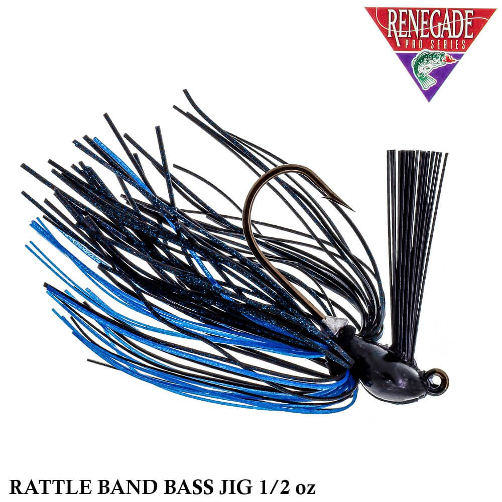 Isca Renegade Pro Series Rattle Band Bass Jig   1/2oz - 14,0 gr