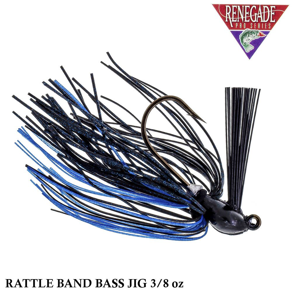Isca Renegade Pro Series Rattle Band Bass Jig | 3/8oz - 10,6gr