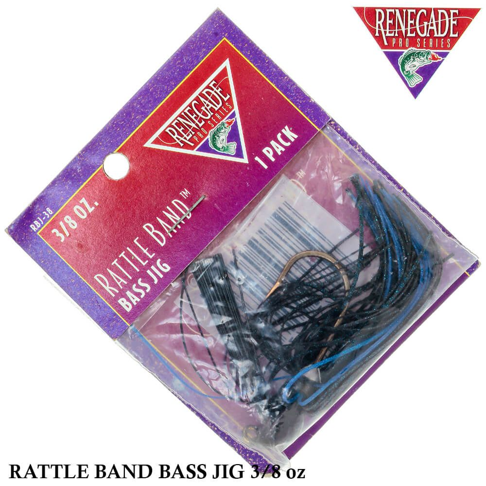 Isca Renegade Pro Series Rattle Band Bass Jig | 3/8oz - 10,6gr