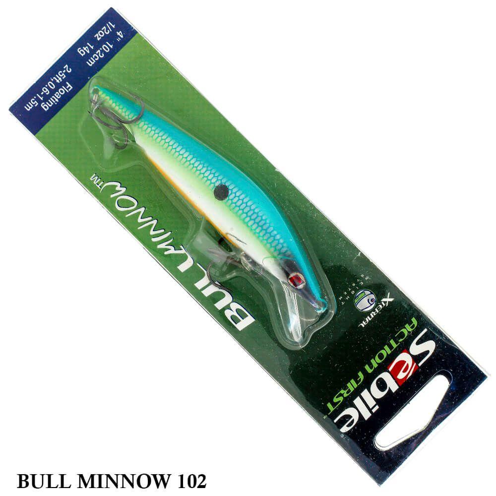 Isca Sebile Action First Bull Minnow | 10,2 cm - 14,0 gr
