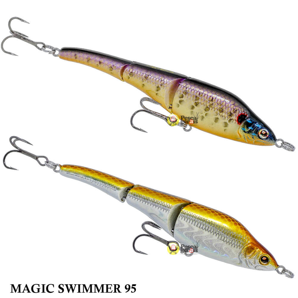 Isca Sébile Magic Swimmer 95 | 9,5 cm - 10,5 gr