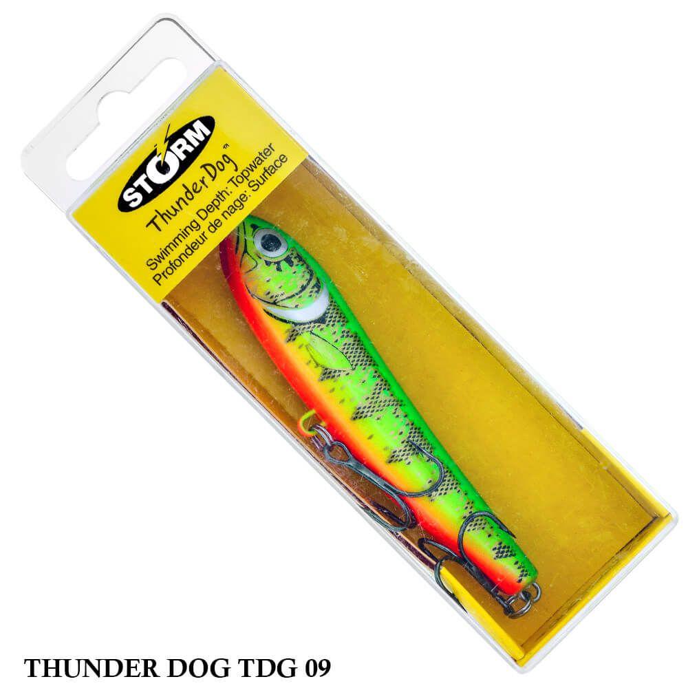 Isca Storm Thunder Dog TDG09   9,0 cm - 11,0 gr