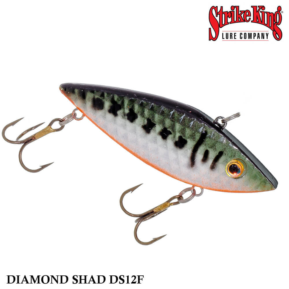 Isca Strike King Rattilin Diamond Shad DS12F | 7,5 cm - 14,0 gr