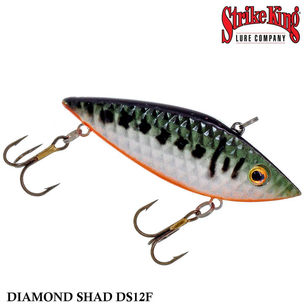 Isca Strike King Rattilin Diamond Shad DS12F | 7,5 cm - 14,0 gr