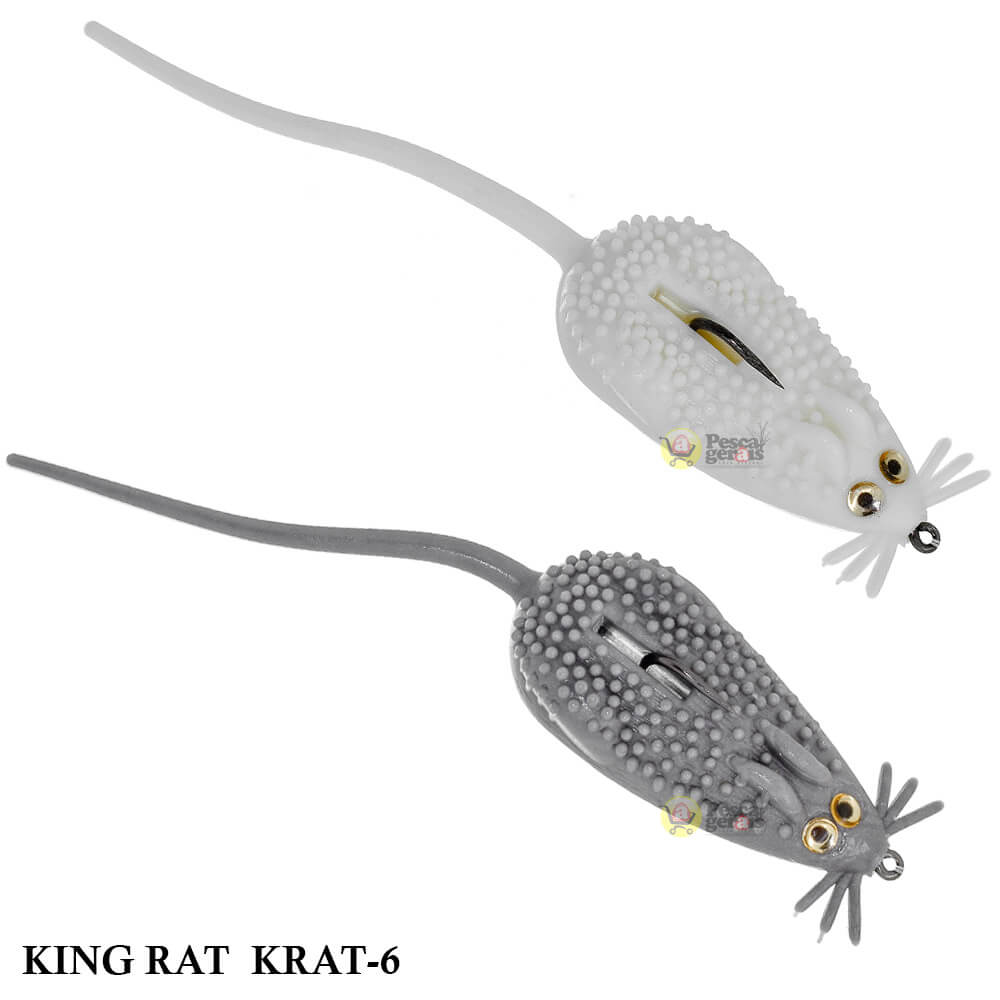 Isca Strike King Fully Rigged King Rat | 10,5 cm - 18,0 gr