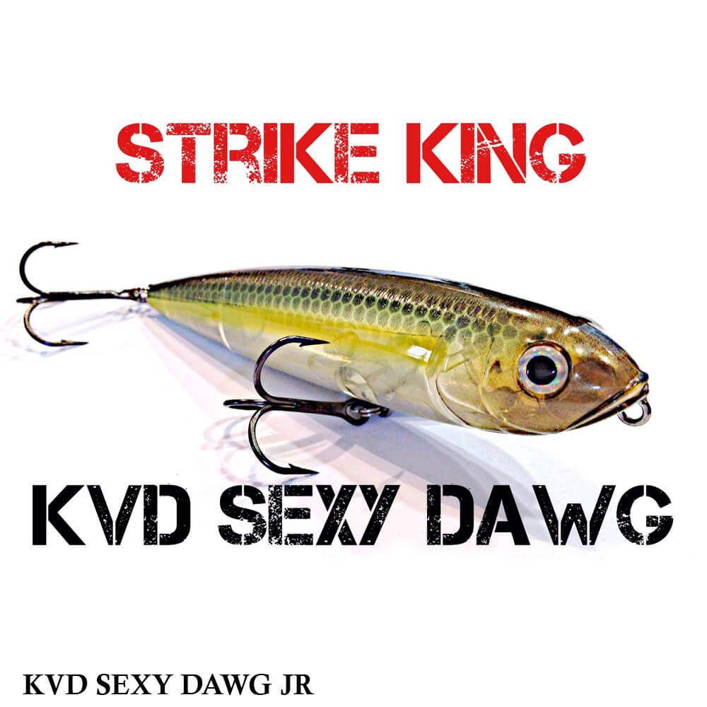 Isca Strike King KVD Sexy Dawg Jr   9,5 cm - 14,0 gr