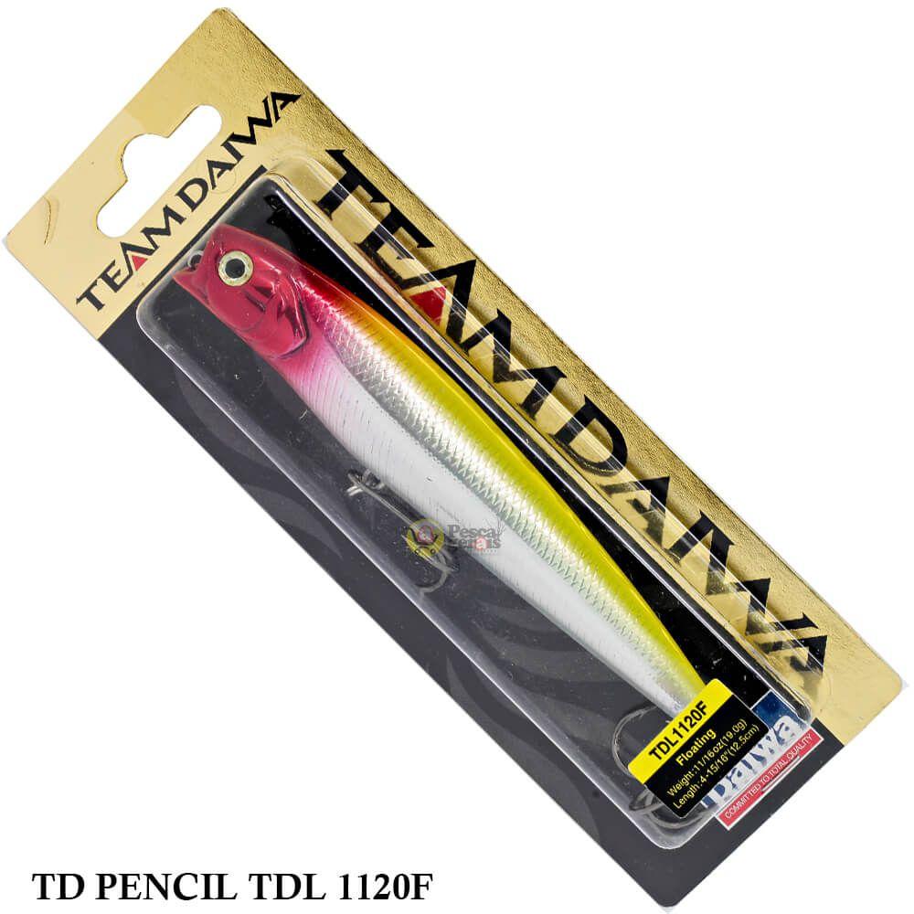 Isca Team Daiwa TD Pencil TDL 1120F | 12,5 cm - 19,0 gr
