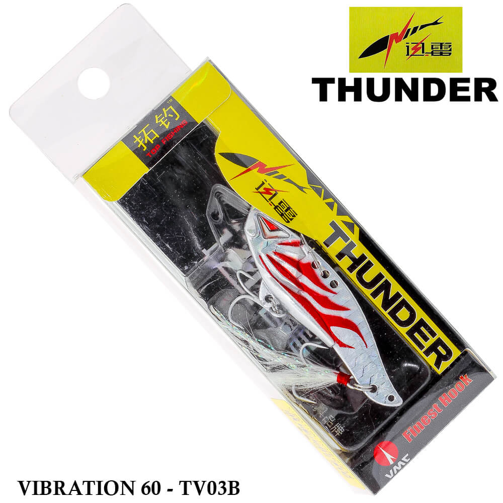 Isca Thunder Vibration 60 - Tv03b | 6,0 cm - 15,0 gr