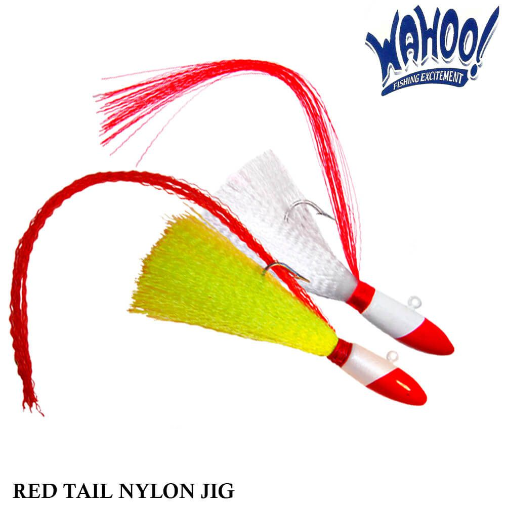 Isca Wahoo Red Tail Nylon Jig 3/4oz| 21,0 gr
