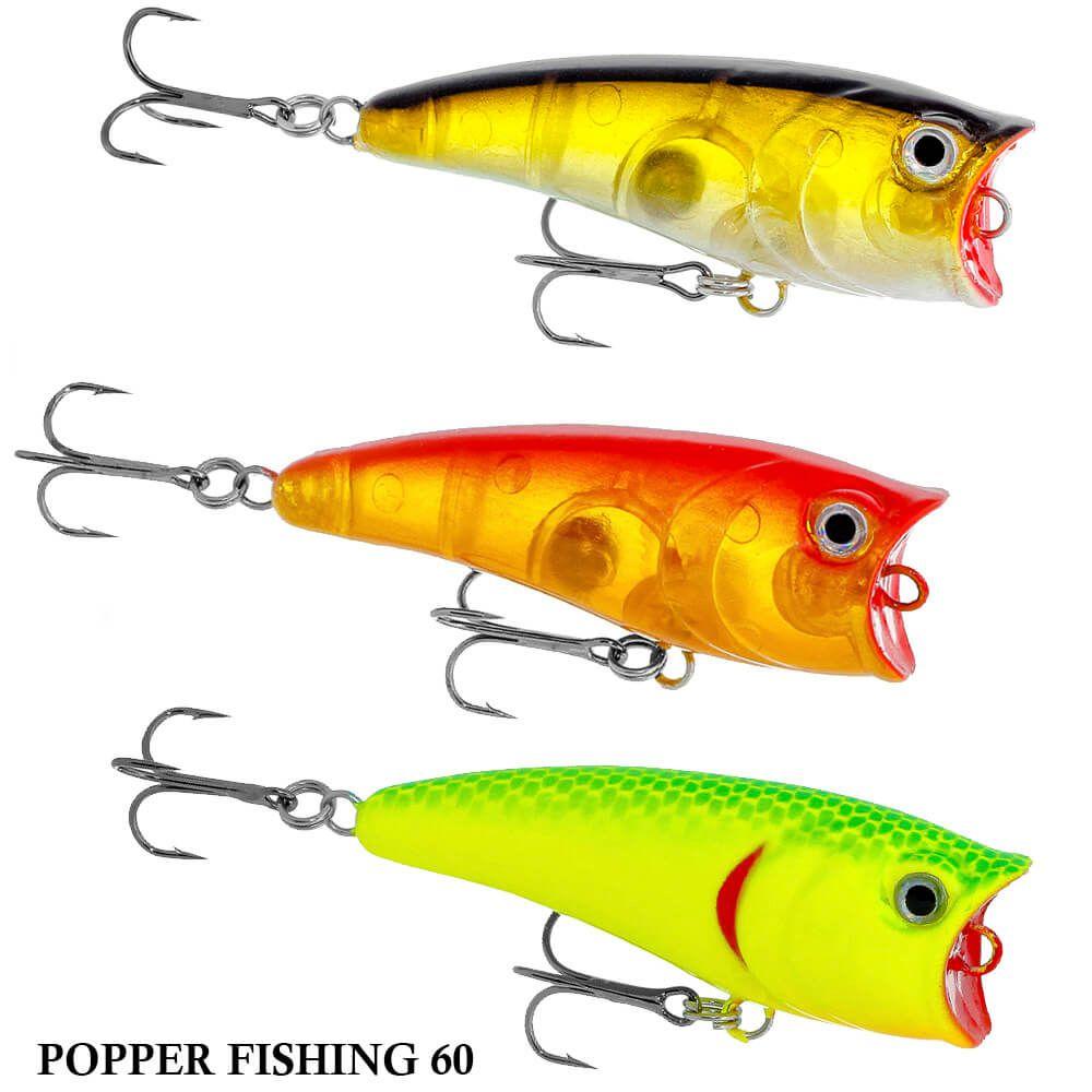 Isca Yayida Popper Fishing 60 | 6,0 cm - 6,5 gr