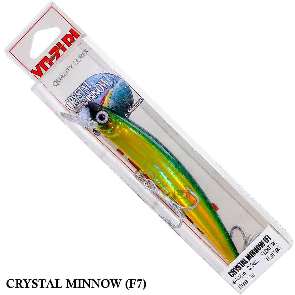 Isca Yo Zuri Crystal Minnow F7 | 11,0 cm - 11,0 gr