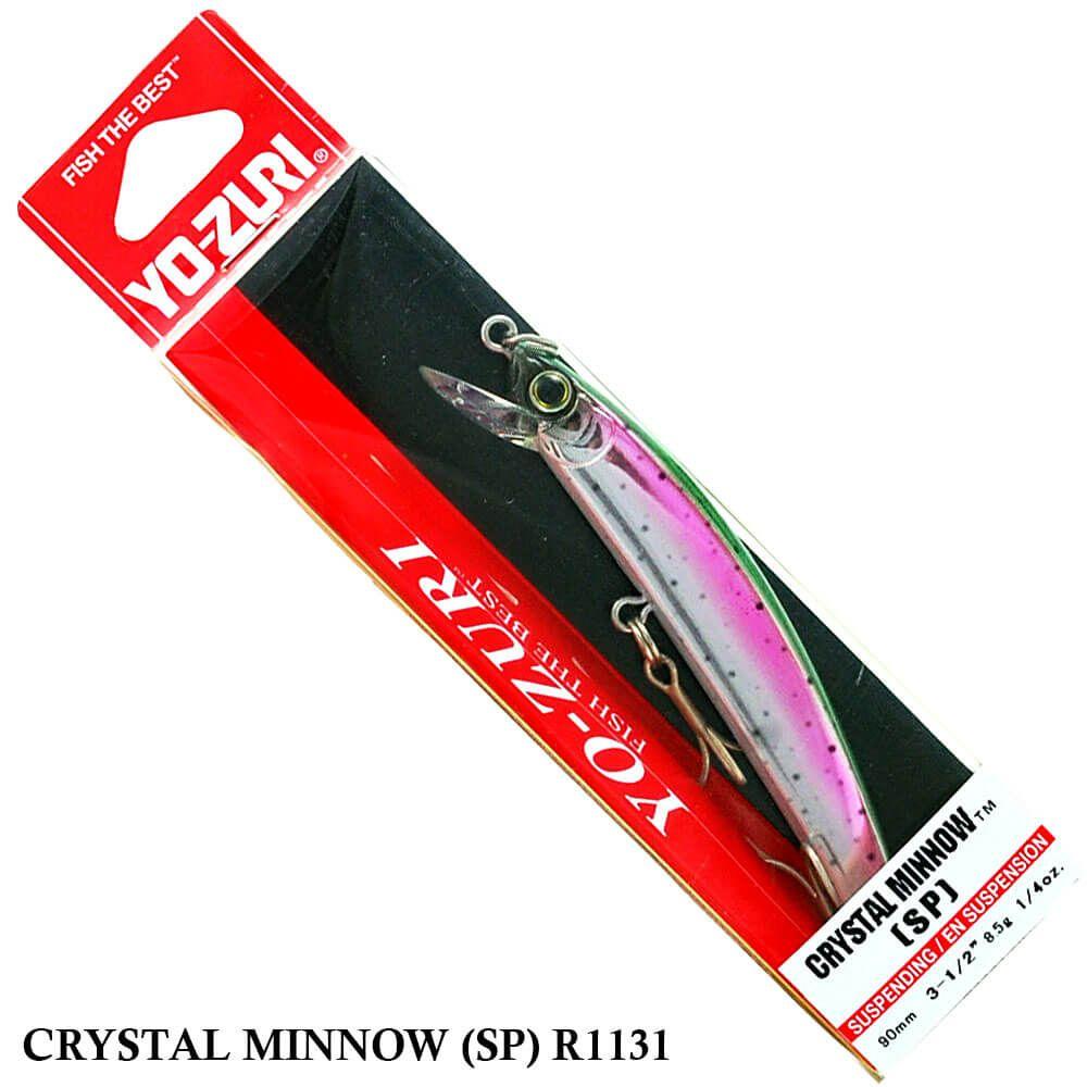 Isca Yo Zuri Crystal Minnow (SP) R1131 | 9,0 cm - 8,5 gr