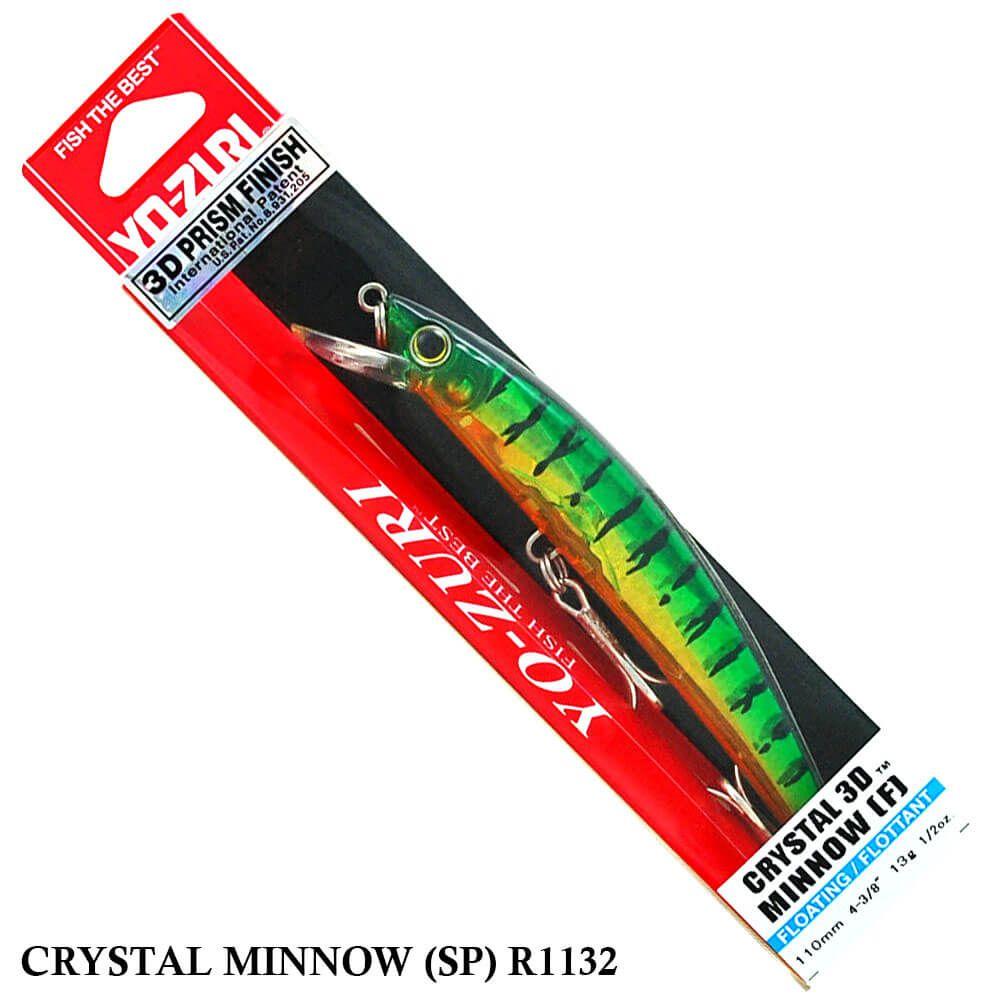 Isca Yo Zuri Crystal Minnow (SP) R1132 | 11,0 cm - 15,0 gr