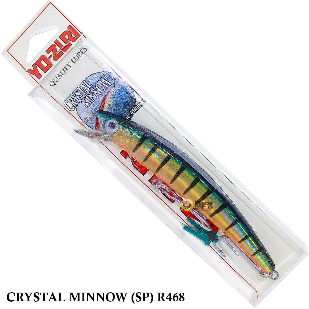 Isca Yo Zuri Crystal Minnow (SP) R468 | 11,0 cm - 14,0 gr