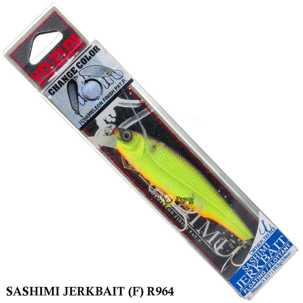 Isca Yo Zuri Sashimi Jerkbait (F) R964   9,0 cm - 10,5 gr