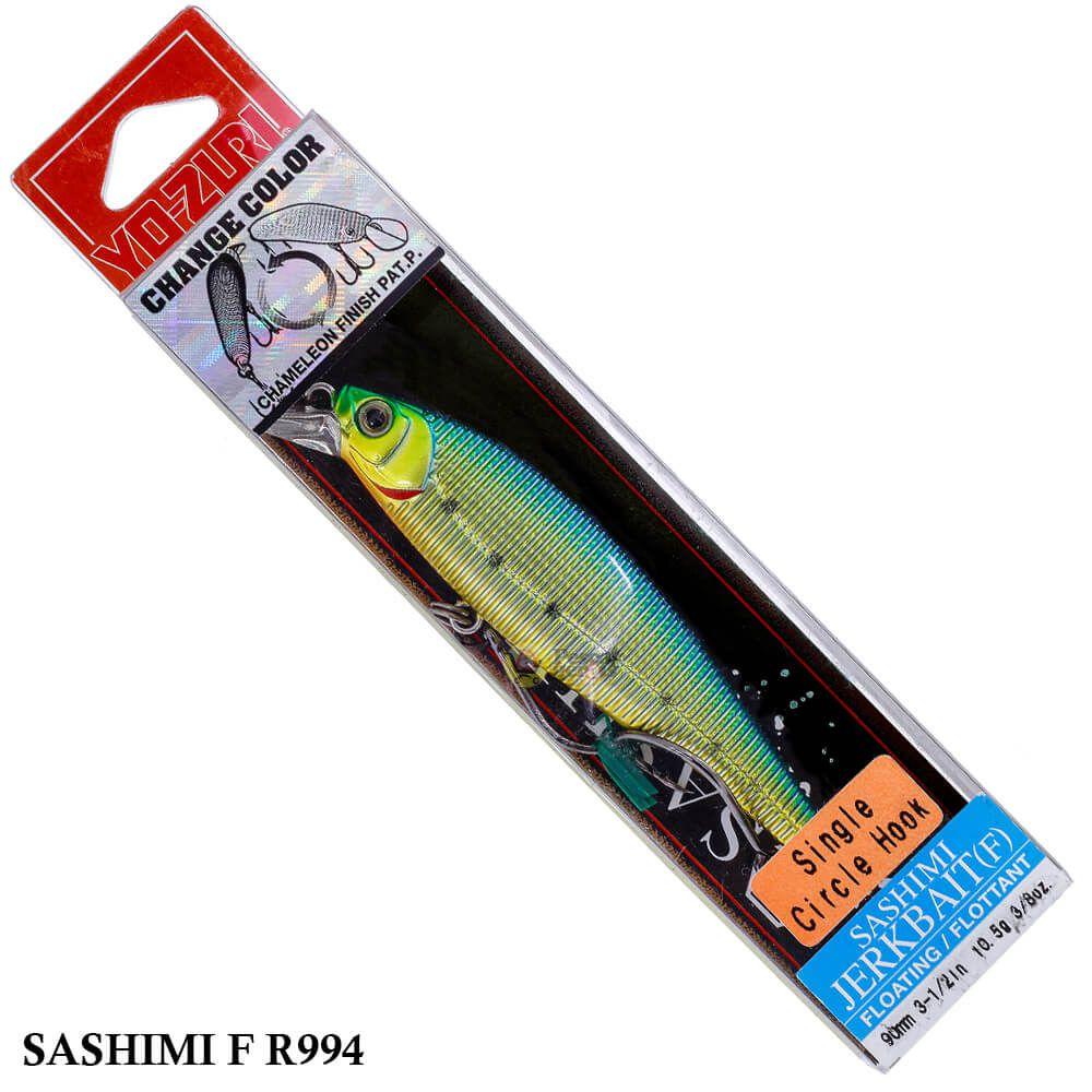Isca Yo Zuri Sashimi Jerkbait (F) R994 | 9,0 cm - 10,5 gr