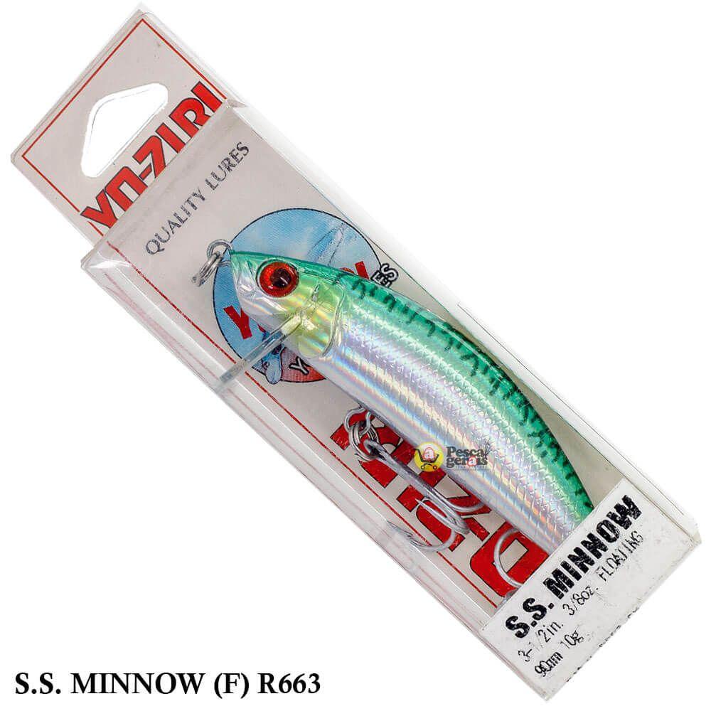 Isca Yo Zuri SS Minnow (F) R663 | 9,0 cm - 10,0 gr