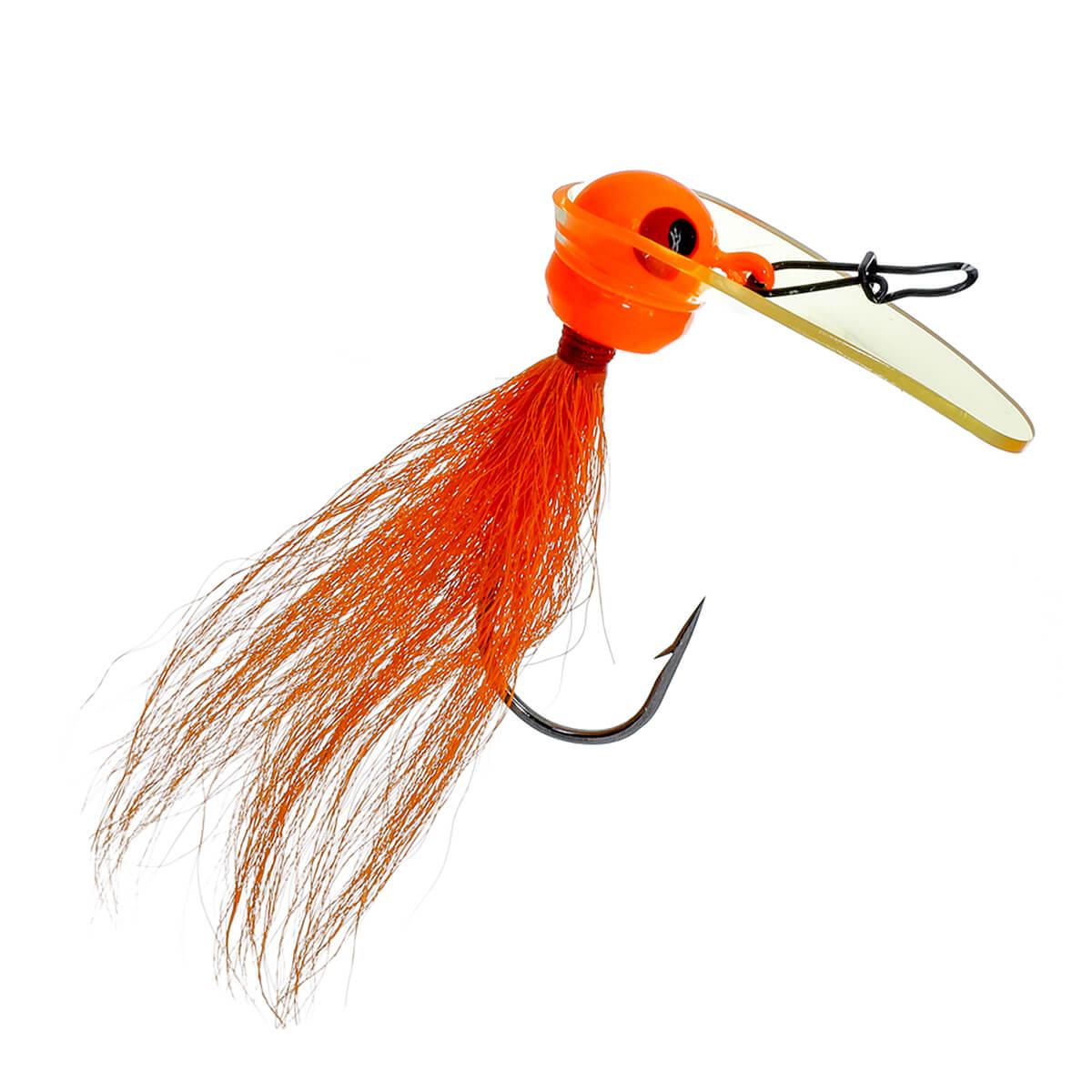 Jig Luck e Strike Scrounger Bucktail Jig Orange | 14,0 gr