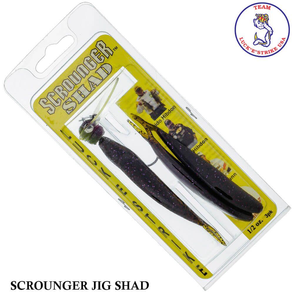 Jig Luck e Strike Scrounger Jing Shad 823 | 21,0 gr