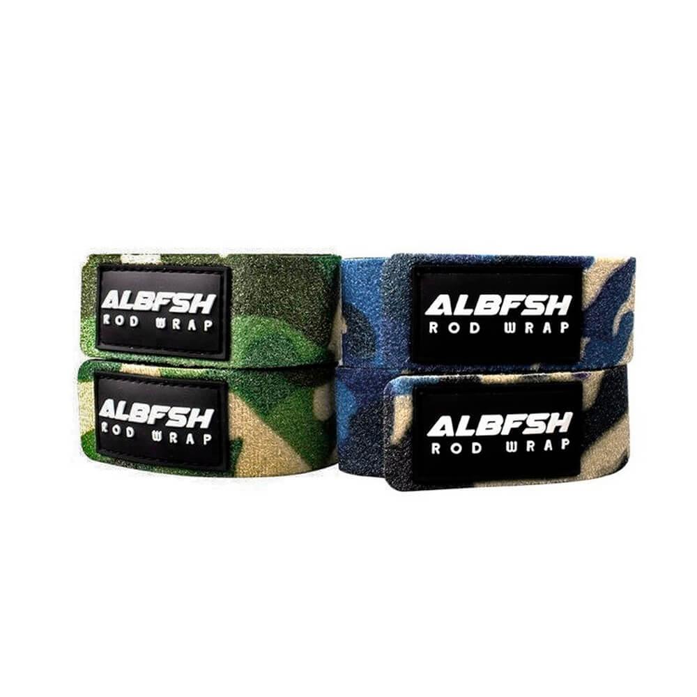 Junta Varas Albatroz Rod Wrap com Velcro - Neopreme e Nylon