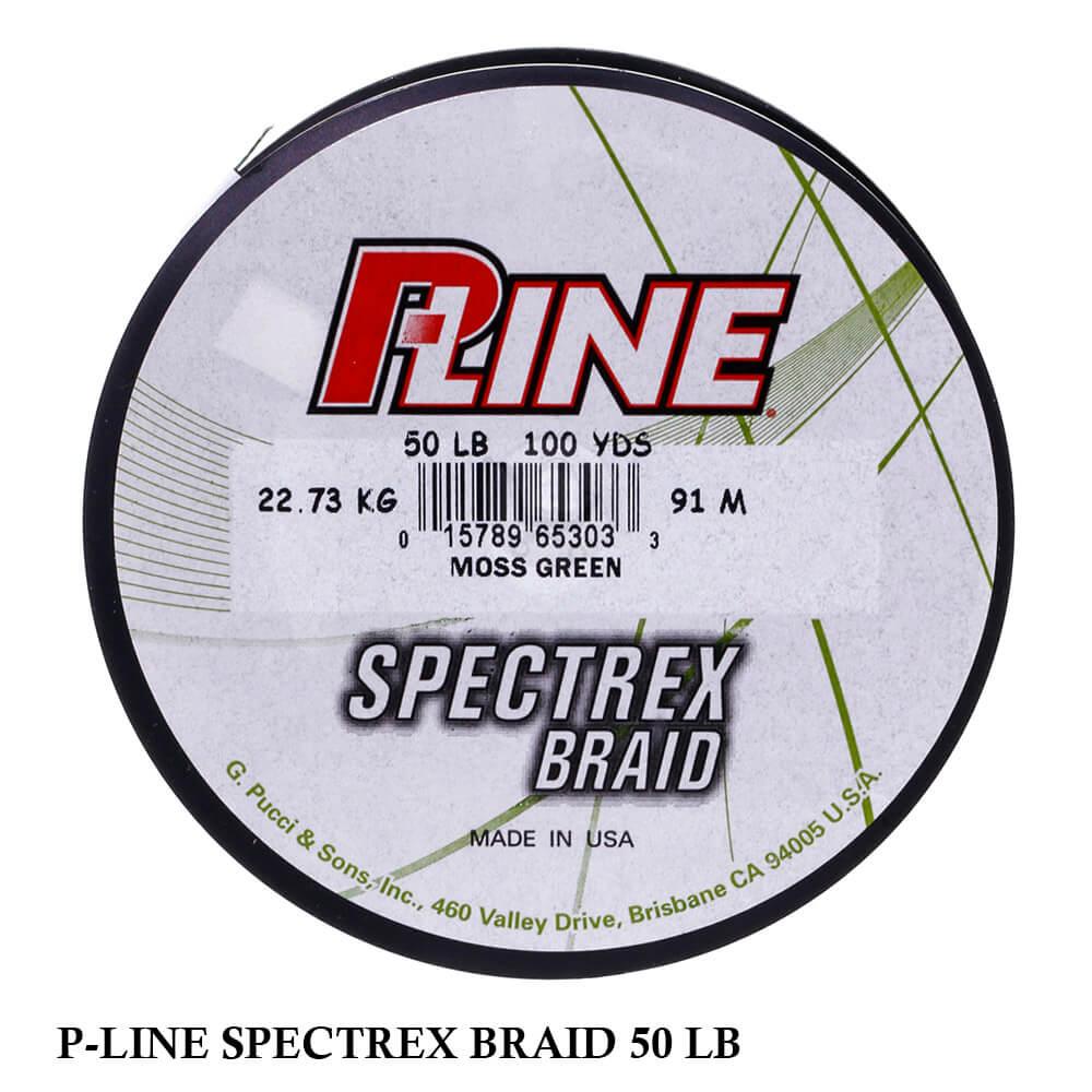 Linha Multifilamento P-LINE Spectrex Braid 0,36mm 50Lb