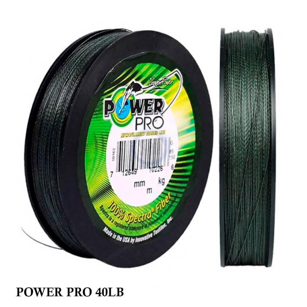 Linha Multifilamento Power Pro 40lb 0,32mm 300yds