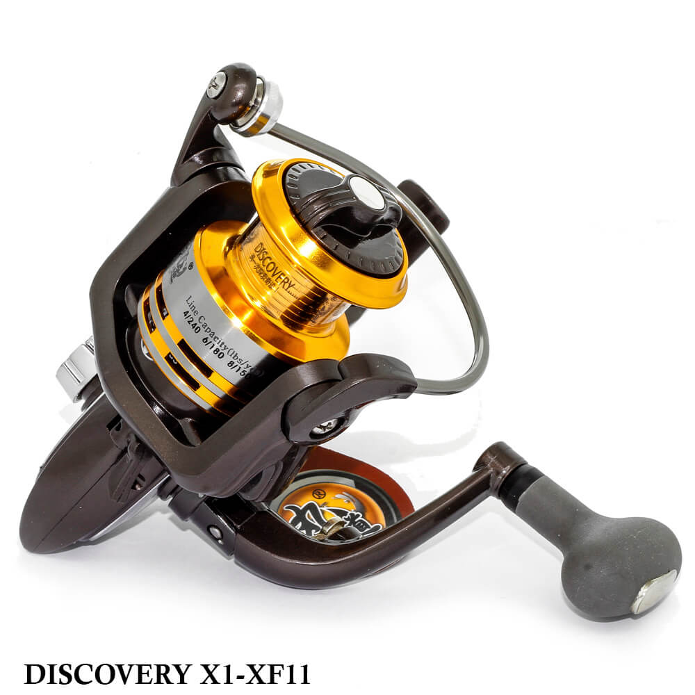 Molinete para Pesca Discovery X1A-XF11 10BB + 1RB 5.1:1