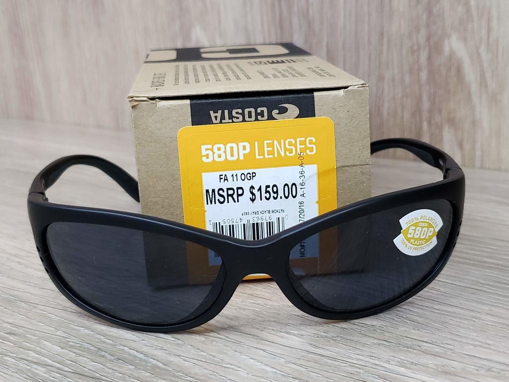 Óculos Costa Del Mar Fathom FA 11 OGP 580P