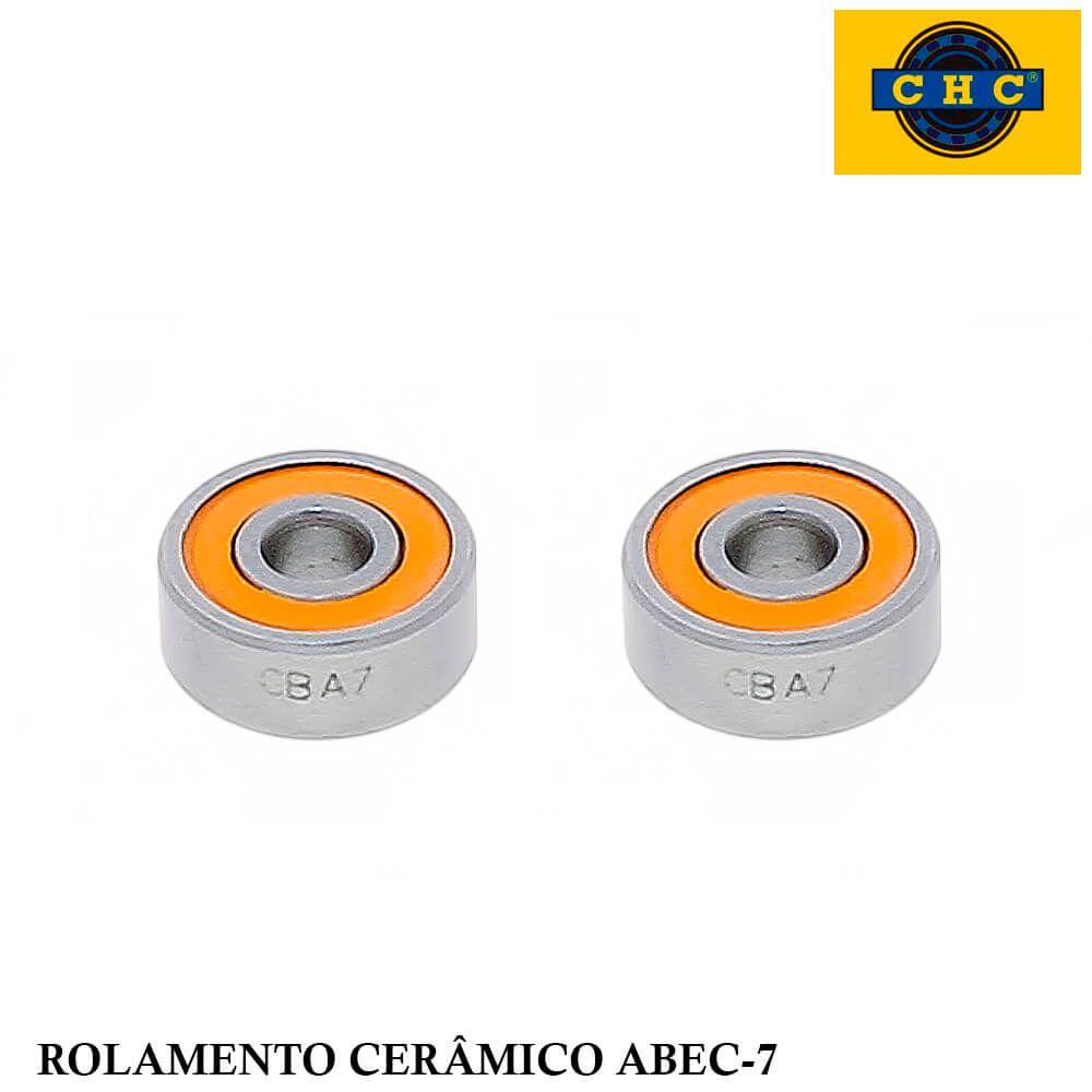 Rolamento Cerâmico GHC Bearings S623 2RS CB ABEC-7