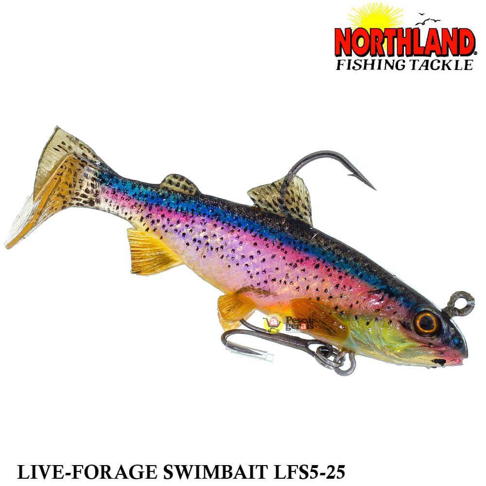 Shad Northland Maxi Live-Forage LFS5-25 | 8,0 cm - 10,5 gr