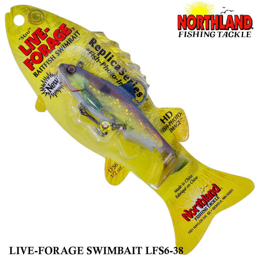 Shad Northland Maxi Live-Forage LFS6-38 | 10,5 cm - 14,0 gr