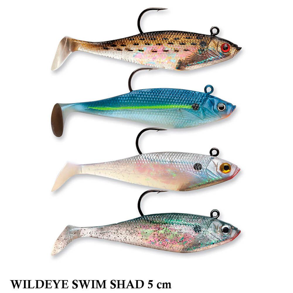Shad Storm Wildeye Swim Shad WSS02 5CM - C/ 3un - Cor BB