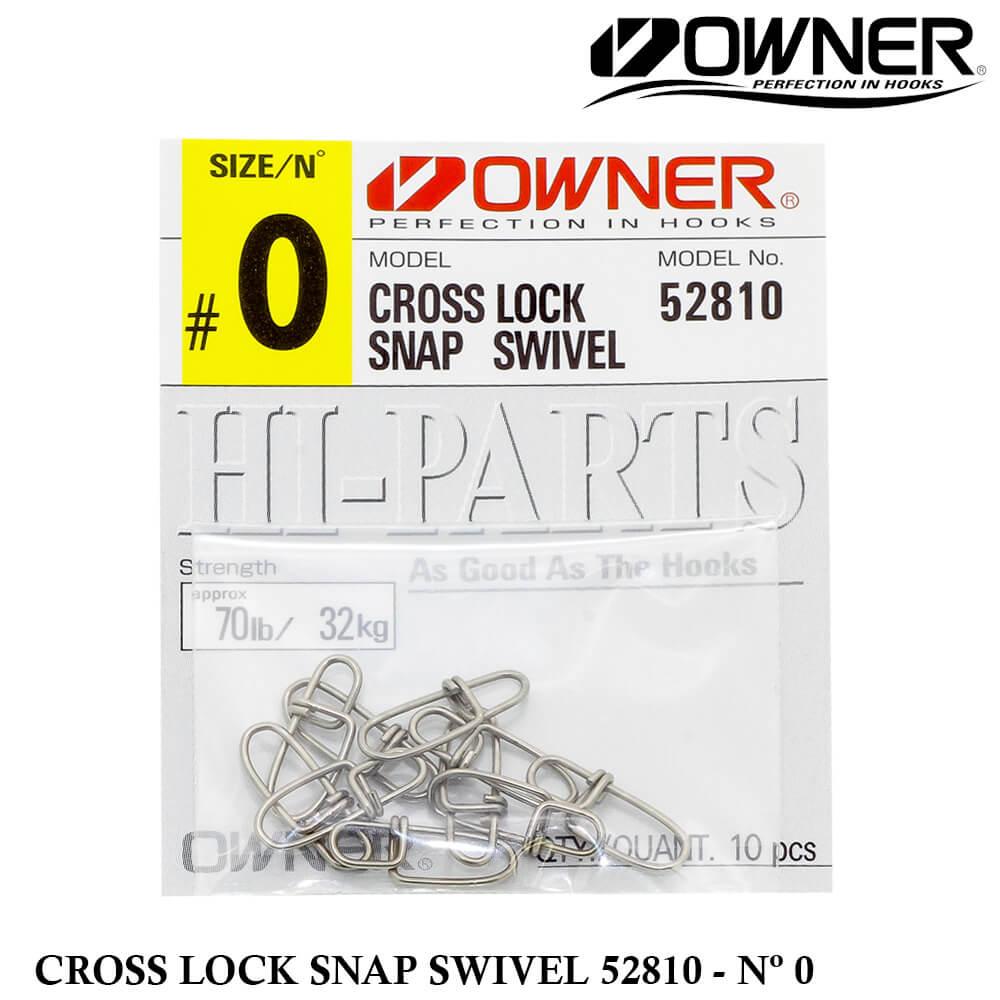 Snap Owner Cross Lock 52810 - Nº 0