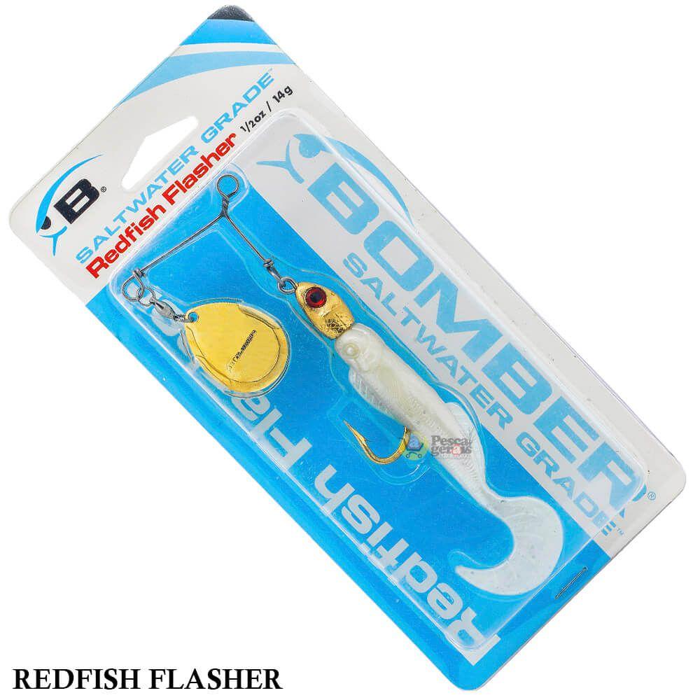 Spinner Bomber Redfish Flasher BSWRF C307 | 14,0gr