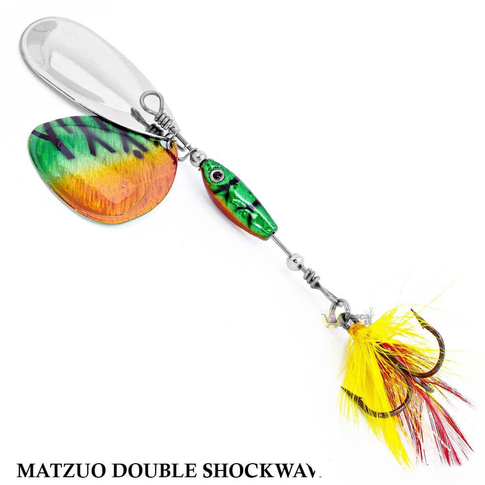 Spinner Matzuo America Double Shockwave 11MSD - Firetiger