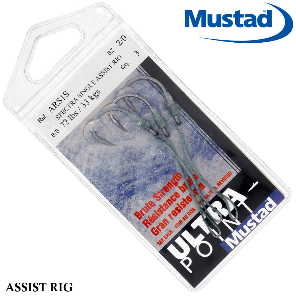 Suport Hook Mustad Ultra Point Spectra Single Assit Rig 2/0