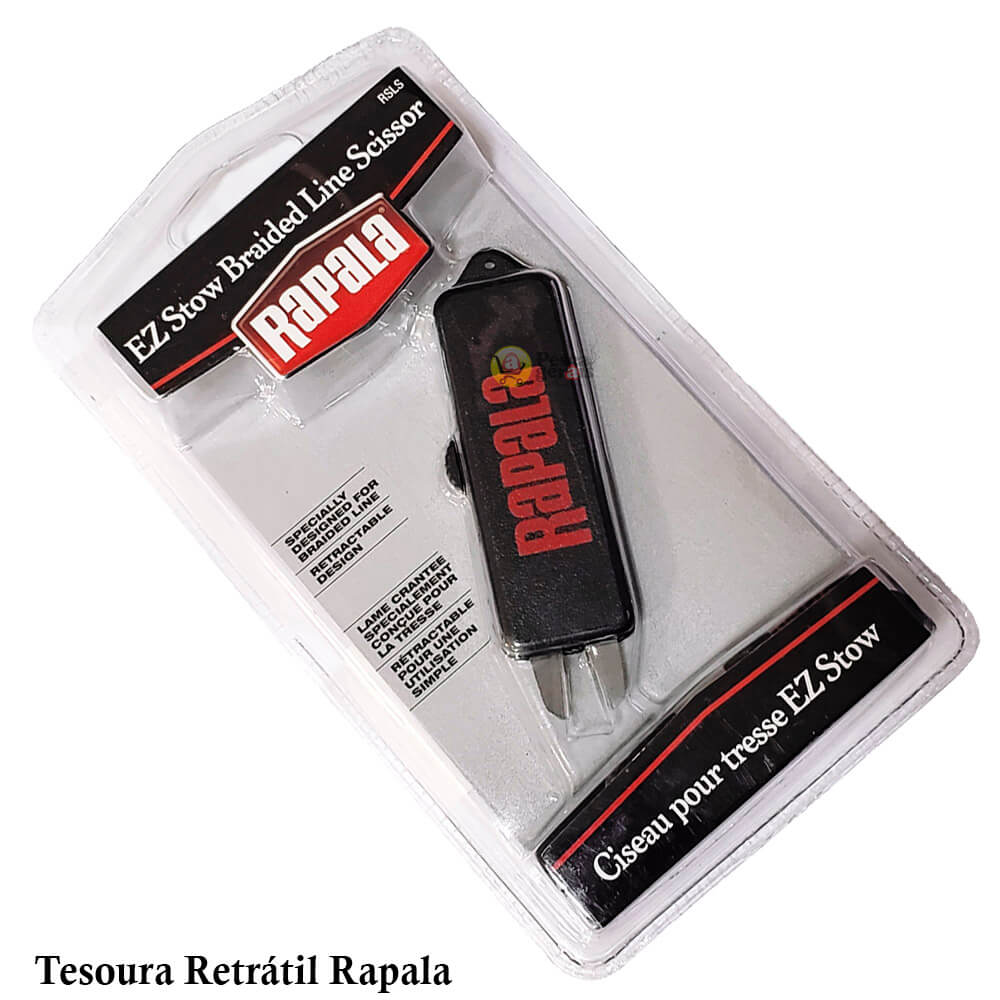 TESOURA RETRÁTIL RAPALA - RSLS