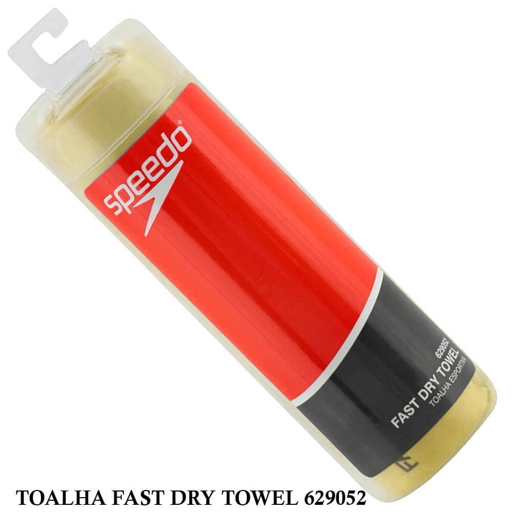 Toalha Speedo Fast Dry Towel - Amarela