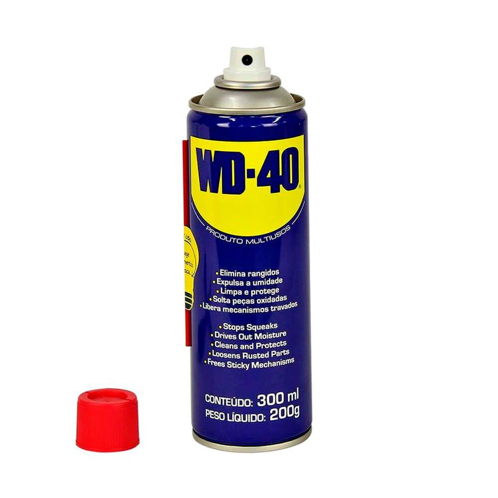 WD-40 Óleo Spray Lubrificante Multiuso Aerosol 300ml