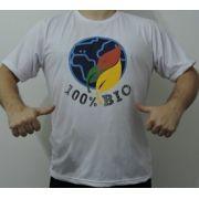 CAMISETA 100%BIO - MAS, BRANCA-PLANETA TAM. (G)
