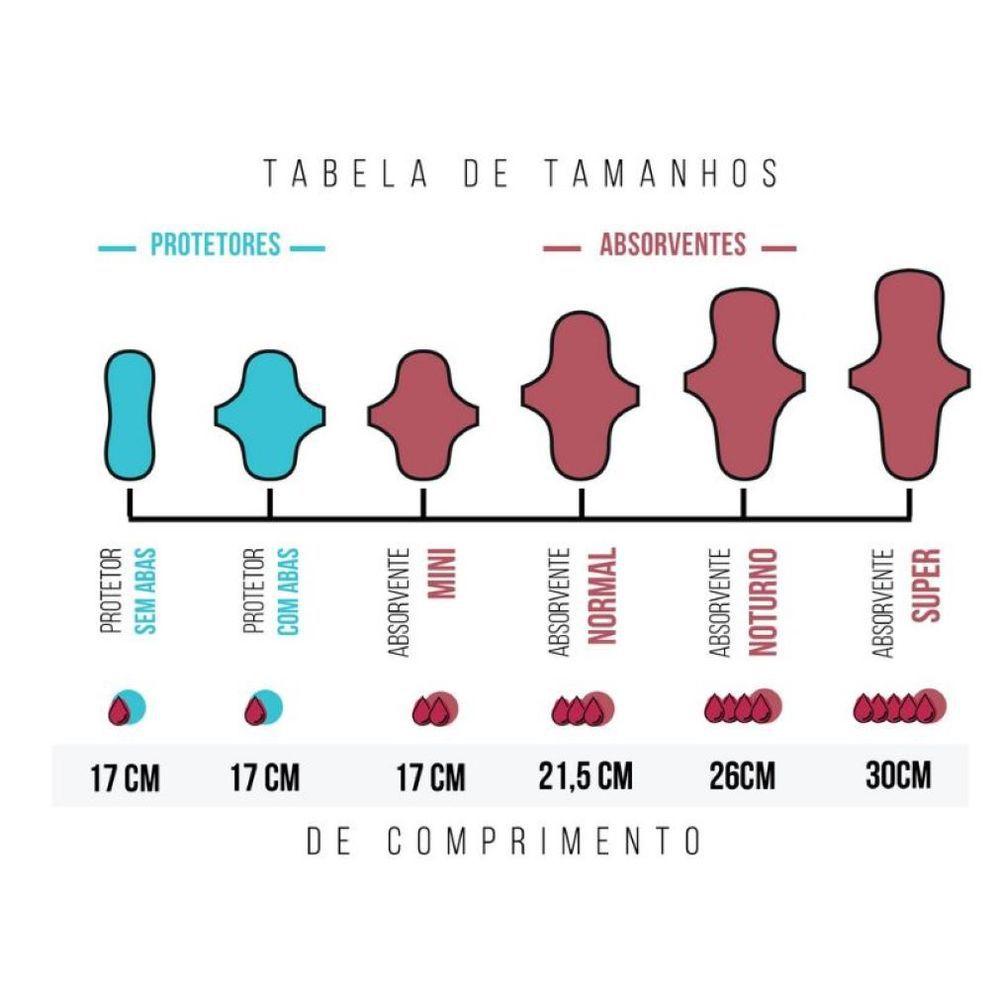 PROTETOR DE CALCINHA C/ABAS KORUI (cores variadas)