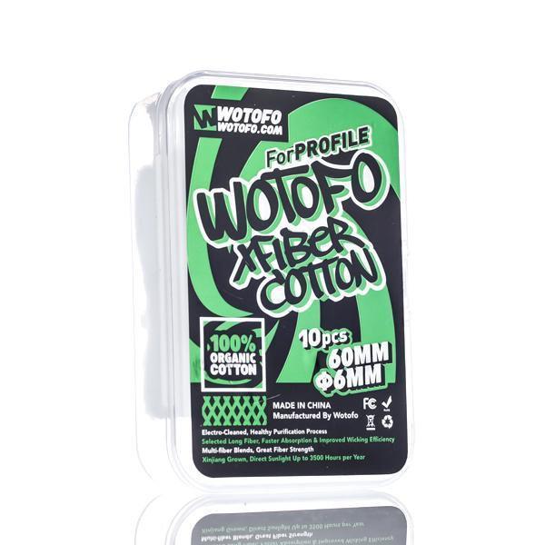Algodão XFiber Cotton 30pcs by Wotofo