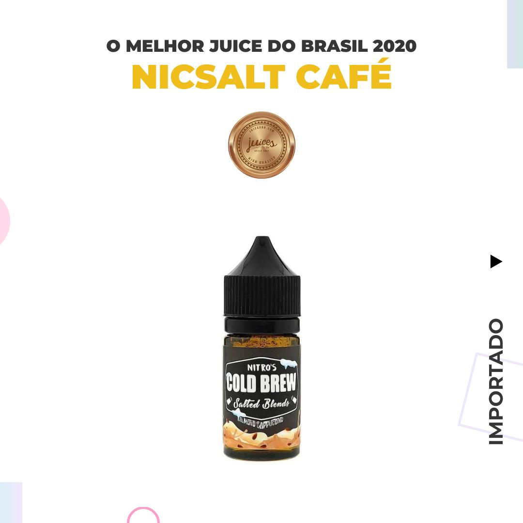 Almond Capuccino Salt by Nitro's Cold