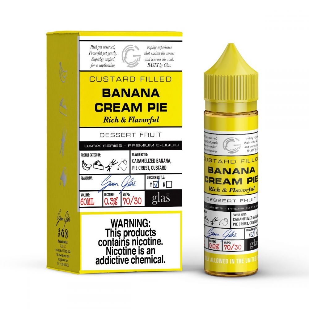 Banana Cream Pie - Basix Series by Glas