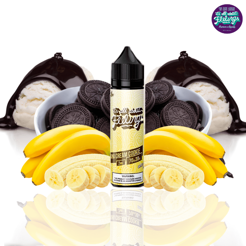 Banana Cream Cookie by Feeling Juices