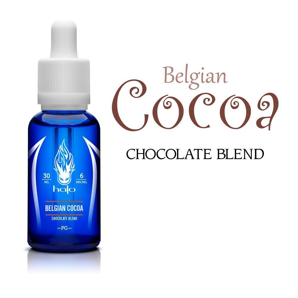 Belgian Cocoa by Halo E-Juice