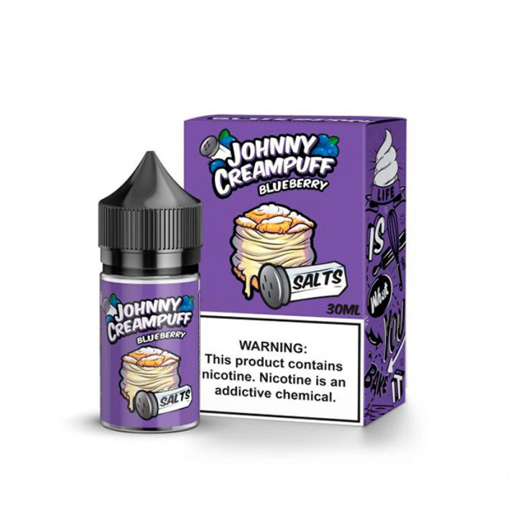 Blueberry Creampuff Salt by Tinted Brew